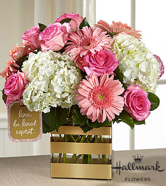 The FTD® Love Bouquet by Hallmark - VASE INCLUDED