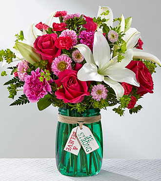 Le bouquet Be Strong & Believe™ – VASE INCLUS