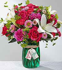 The FTD® Be Strong & Believe™ Bouquet- VASE INCLUDED