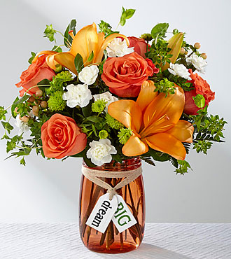 Le bouquet Dream Big™ de FTD® – VASE INCLUS