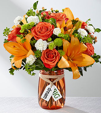 The FTD® Dream Big™ Bouquet- VASE INCLUDED
