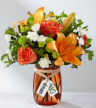 Le bouquet Dream Big™ – VASE INCLUS