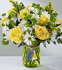Le bouquet Hello Sun™ – VASE INCLUS