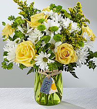 The FTD® Hello Sun™ Bouquet- VASE INCLUDED