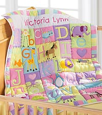 Soft & Sweet ABC's Quilt