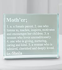 Personal Creations® Personalized Mother Glass Block