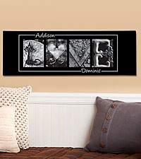 Personal Creations® Personalized LOVE Canvas