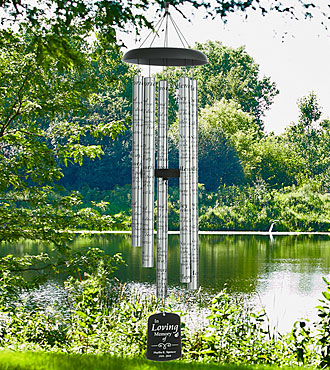 Personal Creations® Personalized Memorial Sonnet Windchime
