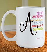 Personalized All About Her Mug
