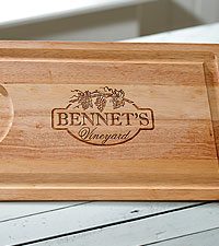 Personal Creations® Personalized Wooden Carving Board