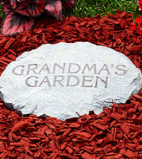 Personal Creations® Personalized Garden Stepping Stone - 2 Lines