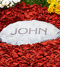 Personalized Garden Stepping Stone - 1 Line