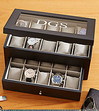 Personal Creations® Personalized Wood Watch Box