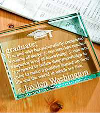 Personal Creations®Personalized Graduate Definition Paperweight