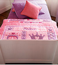 Personal Creations® Baby Quilt - Princess