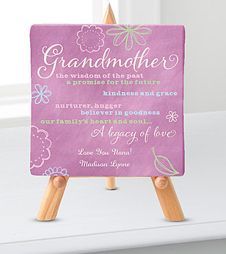 Personal Creations® Promises Relationship Canvas-Grandmother