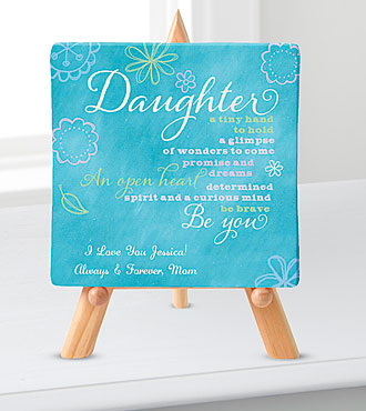 Personal Creations® Promises Relationship Canvas-Daughter
