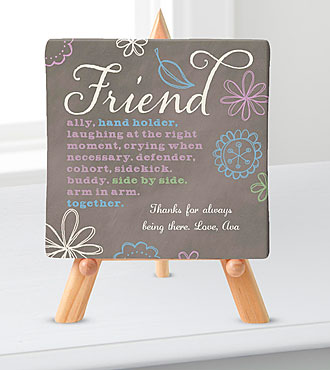 Personal Creations® Promises Relationship Canvas-Friend