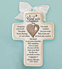 Personal Creations® Memorial Ceramic Cross