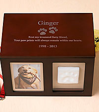 Personal Creations® Pet Memorial Keepsake Box