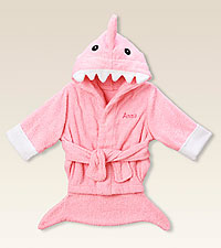 Personal Creations® Pink Shark Robe