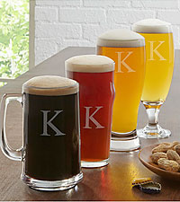 Personal Creations® 4 Piece Beer Sampler Glass Set