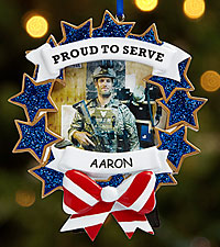 Personal Creations® Patriotic Pride Photo Ornament