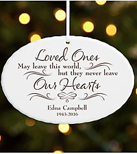 Personal Creations® Never Leave Our Hearts Ornament