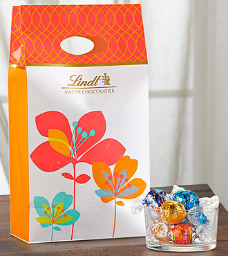 Lindt Spring Flowers Gift Bag