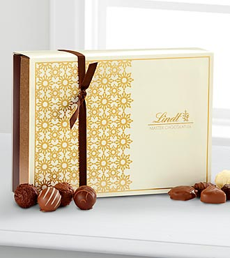 Lindt Gourmet Truffles & Pralines Gift Box
