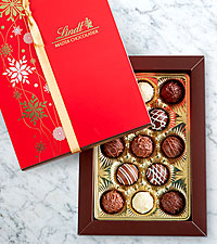 Lindt Gourmet Truffle Holiday Gift Box