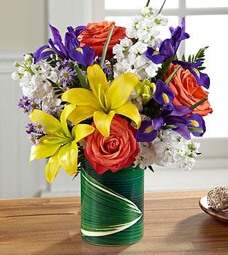 Le bouquet Sunlit Wishes™ de FTD®