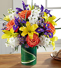 Le bouquet Sunlit Wishes™ de FTD®