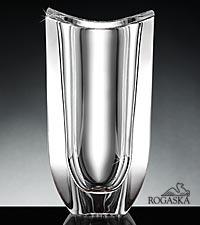 Rogoska Crystal Gondola Vase