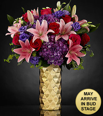 Love Shine Luxury Bouquet - VASE INCLUDED