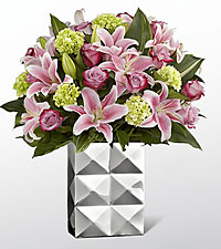 Shine On Luxury Bouquet - VASE INCLUDED