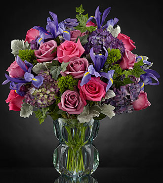 Le bouquet Lavender Luxe™ Luxury  - VASE INCLUS