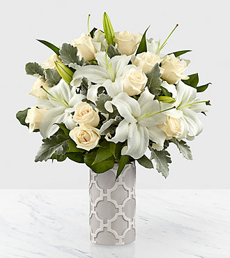 Le bouquet Pure Opulence™ Luxury  - VASE INCLUS