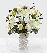 Le bouquet Pure Opulence™ Luxury  - VASE INCLUS