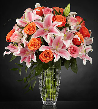 Le bouquet Sweetly Stunning™ Luxury  - VASE INCLUS