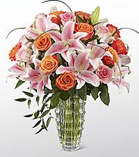 Le bouquet Sweetly Stunning™ Luxury de FTD® - VASE INCLUS