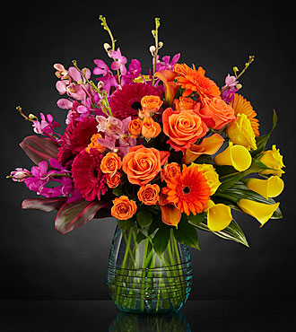 Beyond Brilliant™ Luxury Bouquet  - VASE INCLUDED