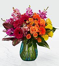 Le bouquet Beyond Brilliant™ Luxury - VASE INCLUS