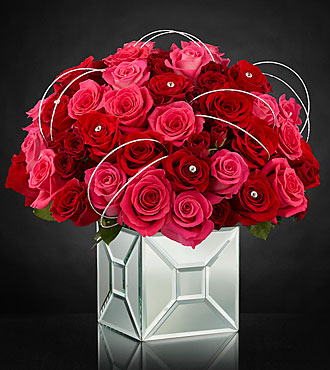 The FTD® Blushing Extravagance™ Luxury Bouquet by Kalla™ - VASE INCLUDED