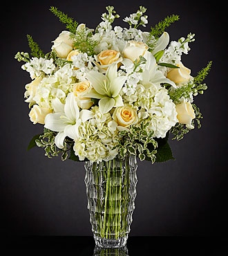 Le bouquet de luxe Hope Heals™  - VASE INCLUS