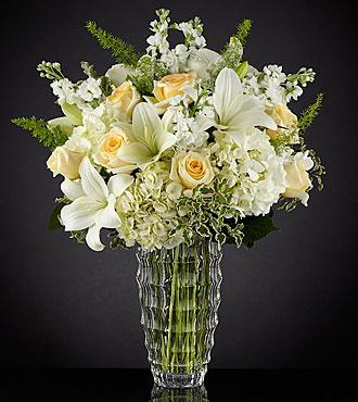 Le bouquet de luxe Hope Heals™ de FTD®  - VASE INCLUS