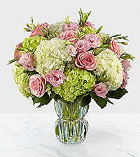Le bouquet Always Smile™ de luxe - VASE INCLUS