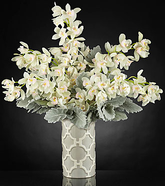 Le bouquet de luxe Morning Memories™ - VASE INCLUS