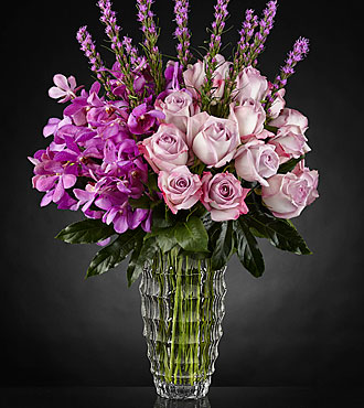 Le bouquet Modern Royalty™ Luxury - VASE INCLUS