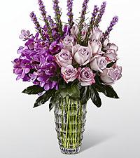 Le bouquet Modern Royalty™ Luxury de FTD® - VASE INCLUS